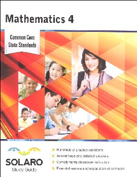 Common Core Mathematics Grade 4 (SOLARO Study Guide)