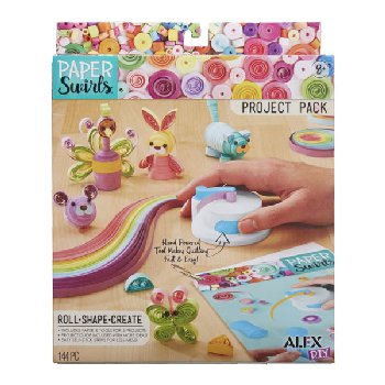 Paper Swirls Project Pack
