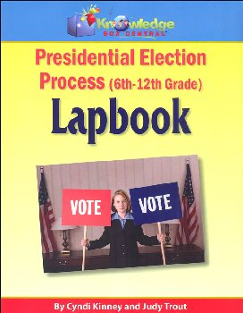 Presidential Election Process Lapbook for Grades 6-12 Printed