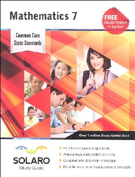 Common Core Mathematics Grade 7 (SOLARO Study Guide)