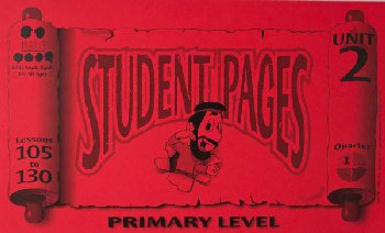Primary Student Pages for Lessons 105-130
