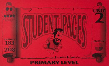 Primary Student Pages for Lessons 183-208