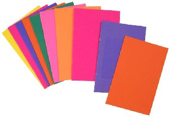 "Bright Books in Assorted Colors - 10 Pack (5.5"" x 8.5"")"