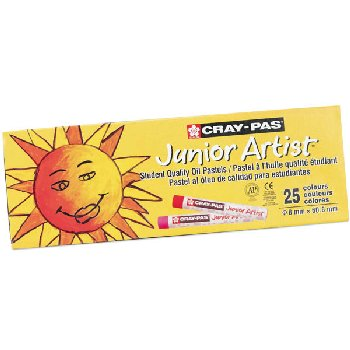 Cray-Pas Junior Artist Oil Pastels Set of 25