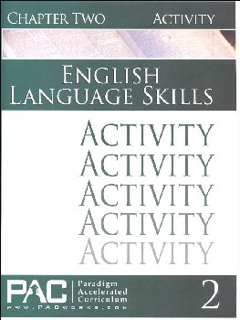 English I: Language Skills Chapter 2 Activities