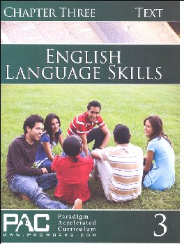 English I: Language Skills Chapter 3 Text