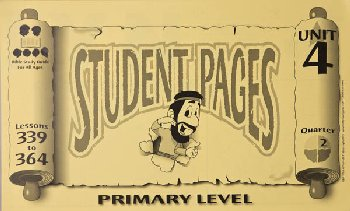 Primary Student Pages for Lessons 339-364