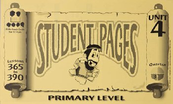 Primary Student Pages for Lessons 365-390