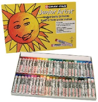 Cray-Pas Junior Artist Oil Pastels Set of 50