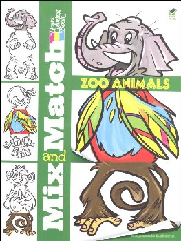Mix and Match - Zoo Animals