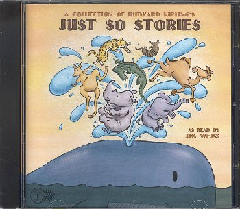 Collection of Rudyard Kipling's Just So Stories Audio CD