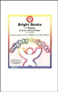 "Bright Books White - 10 Pack 5.5"" x 8.5"""