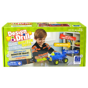 Design & Drill Power Play Vehicles: Monster Truck