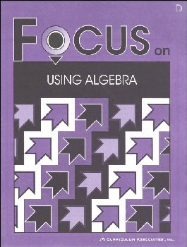 Using Algebra Student Book D