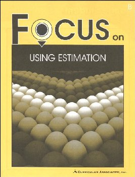 Using Estimation Student Book B