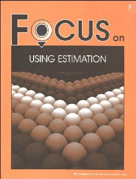 Using Estimation Student Book F