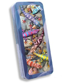 Geckos 3D Pencil Tin