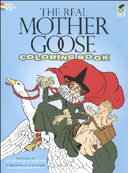 Real Mother Goose Coloring Book