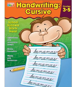 Handwriting: Cursive (Brighter Child Workbook)