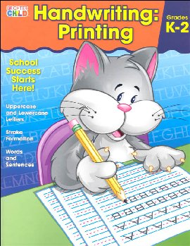 Handwriting: Printing (Brighter Child Workbook)