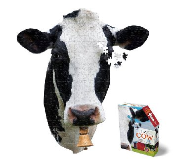 I AM Cow Mini Puzzle 300 pieces (Madd Capp Mini Puzzles)