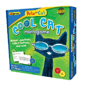 Pete the Cat Cool Cat Math Game: Grade 1