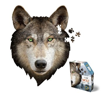 I AM Wolf Mini Puzzle 300 pieces (Madd Capp Mini Puzzles)