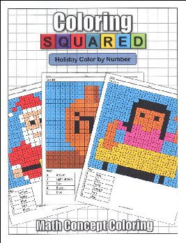 Coloring Squared: Holiday Color by Number