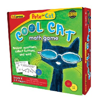 Pete the Cat Cool Cat Math Game: Kindergarten