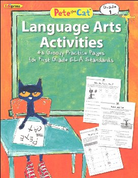 Pete the Cat Language Arts Workbook: Grade 1