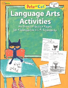 Pete the Cat Language Arts Workbook: Kindergarten