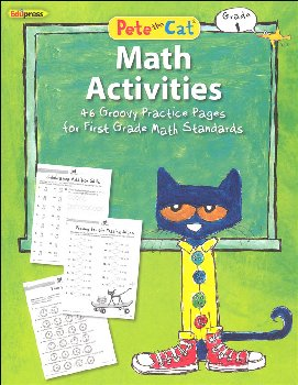 Pete the Cat Math Workbook: Grade 1
