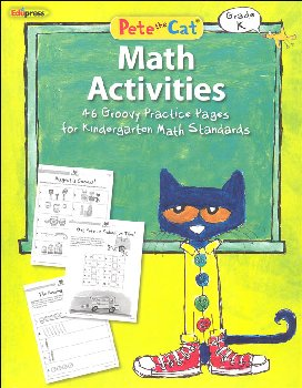 Pete the Cat Math Workbook: Kindergarten