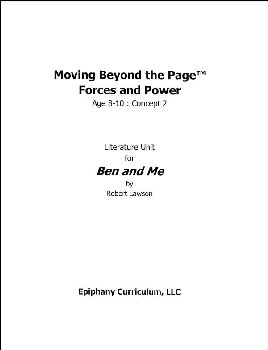 Ben and Me - Additional Set of Student Activity Pages