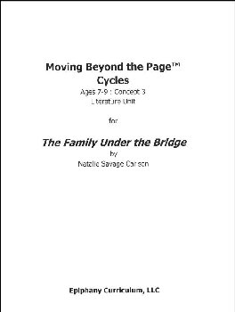 Family Under the Bridge - Additional Set of Student Activity Pages
