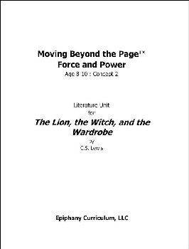 Lion, the Witch, and the Wardrobe - Additional Set of Student Activity Pages