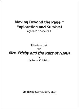 Mrs. Frisby and the Rats of NIMH - Additional Set of Student Activity Pages