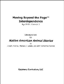 Native American Animal Stories - Additional Set of Student Activity Pages