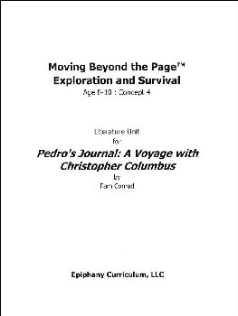 Pedro's Journal - Additional Set of Student Activity Pages