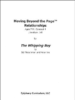 Whipping Boy - Additional Set of Student Activity Pages