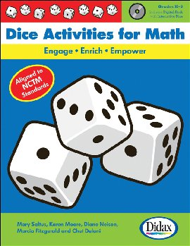 Dice Activities for Math with Reproducible Charts