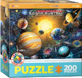 Exploring the Solar System Puzzle - 200 pieces