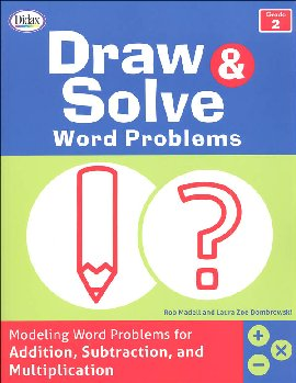 Draw & Solve Word Problems: Grade 2