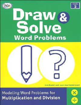 Draw & Solve Word Problems: Grade 3
