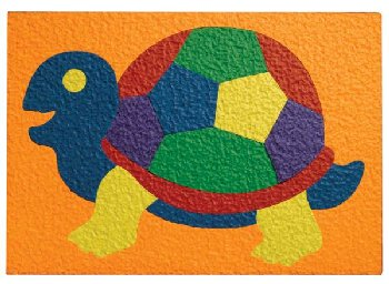 Turtle Crepe Rubber Puzzle (18 Pieces)