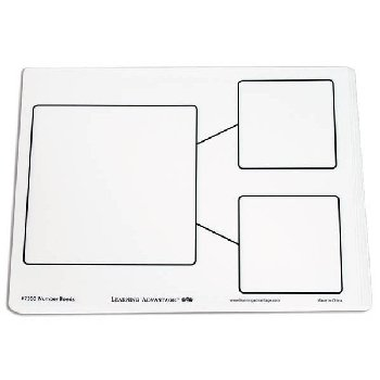 Number Bond Dry Erase Boards Set of 10