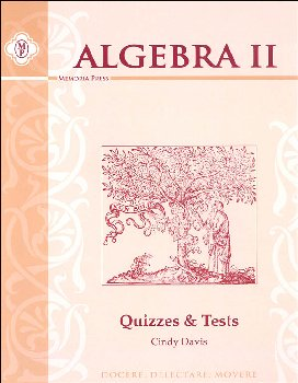 Algebra II Quizzes & Tests