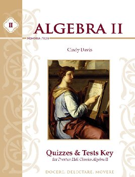 Algebra II Quizzes & Tests Key