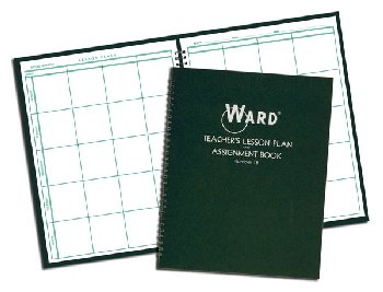 Ward Lesson Plan Book-8 Period Regular