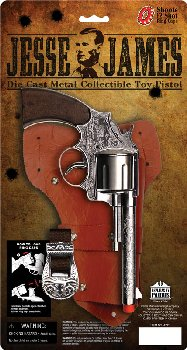 Jesse James Pistol Holster Set